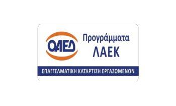 Επιδοτούμενα προγράμματα εργαζομένων -ΛΑΕΚ